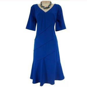 20W 2X▪️SEXY ROYAL BLUE TIERED DRESS Plus Size